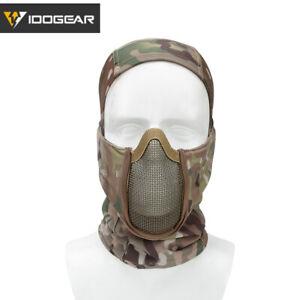 IDOGEAR Tactical Balaclava Mask MESH Airsoft Mask Full Face Airsoft Mask Gear