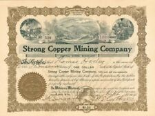 Strong Copper Mining Company - Stock Certificate
