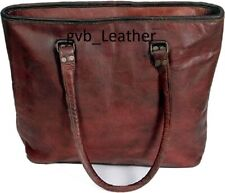 Vintage Genuine Leather Gypsy Women's Hand Bag Messenger Bag Shopping Tote Bag
