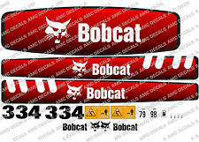 BOBCAT 334 Mini Escavatore decalcomania Set