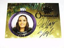 2015 Benchwarmer TIFFANY TAYLOR #105 Gold Ornament Autograph PLAYBOY True Blood