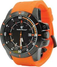 Smith & Wesson Orange Tactical Military 165 ft. Water-Resistant Field Watch