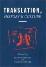 Translation, History, & Culture: By Susan Bassnett
