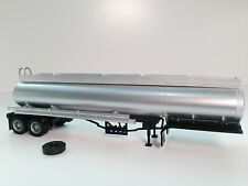 HO 1/87 Promotex # 5275 Elliptical Dual axle Tanker Trailer - Silver