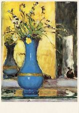 Postcard Edouard Vuillard Le Vase Bleu Kunstmuseum Winterthur NrMINT
