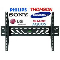 TV Wall Mount Bracket Slim  23 28 32 34 37 40 42 inch LCD LED PLASMA HD MONITOR