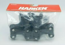 Harken #2743 Small Boat Double Sheave Traveler Controls w/ 423 Carbo-Cam Pair