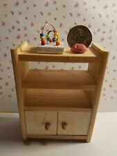 Dollhouse Miniature Handcrafted Kid's Toy Working Bead Maze 1:12 scale