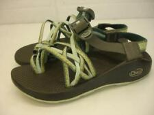 Chaco Women's 5 M ZX3 Yampa Sandals Sport Stardust Green Slingback Toe Loop Ring