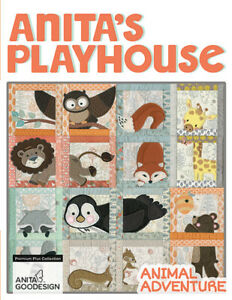 Animal Adventure Plus Bonus Sheep, Corners and Borders Anita Goodesign