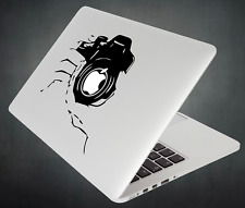 Photo Camera Sticker Photography Decal For Apple MacBook Mac iPad Laptop Car
