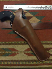 """Ruger Vaquero Blackhawk Army 7 1/2"""" Dual Two Position Leather Holster Cross Draw"""