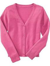 Old Navy Girls Toddlers / Kids Cotton Knit Sweater / Cardigan Pink, XS (5 y/o)