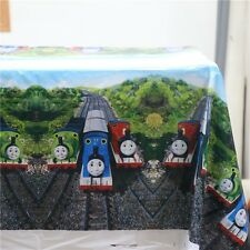 180x108cm Disposable Re-Usable PVC Table Cover Tablecloth Kids Party Thomas