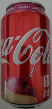 NEW 2020 Coca-Cola Cherry Vanilla Flavor Soda 12 Oz Can FREE WORLDWIDE SHIPPING