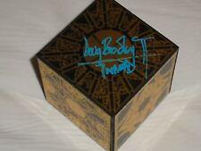DOUG BRADLEY Signed 3x3x3 PuzzleBox Hellraiser Pinhead Autographed RARE