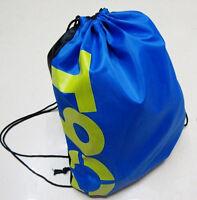New String Drawstring Backpack Cinch Sack School Tote Gym Bag Sport Pack