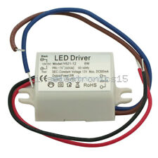 DC 6W 12V Watt High Power LED Driver Constant Current AC 170V-260V 50-60Hz 500mA