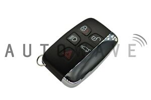 NEW Land Rover Discovery 2012 - 2016 5 Button Smart Remote Keyless Fob UK SUPPLY