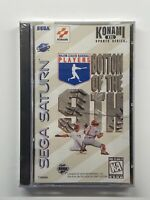 Bottom of the 9th (Sega Saturn, 1996) NEW SEALED!! Case Has Crack See Pics