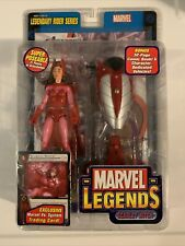 Marvel Legends WANDA MAXIMOFF THE SCARLET WITCH 7? Figure MIB 2005 Disney +