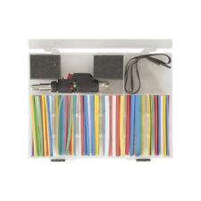 161 Piece Heatshrink Pack with Gas Powered Heat Blower