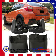 OE Style MUD FLAPS FLAP SPLASH GUARDS MUDGUARD for SUBARU XV CROSSTREK 2011-17