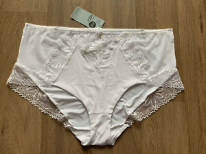 M&S Lingerie The MIDI Supersoft Comfort Features UK18 EU46 BNWT RRP£10 White