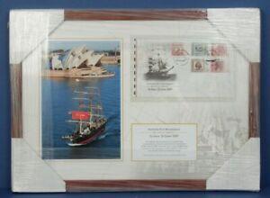 Australia: 2009 Australia Post  Bicentennial Re-enactment Stamp Cover. Low # 008