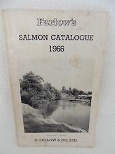 Farlows Salmon Fly Fishing Catalogue 1966