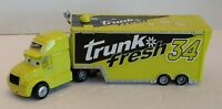 Disney Pixar Cars Semi Hauler Truck  34 Trunk Fresh