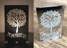 Personalised Gifts For Her Mum Dad Nan Christmas Family Tree Candle Holder Gifts