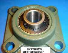 "(Qty.2) 1-1/4"" UCF206-20 Quality square flanged UCF 206-20 Pillow block bearing"