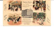 POWERS HOTEL, ROCHESTER, N.Y. FULL COLOR ADV ENV- CA 1904