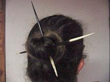 BUTW (2) huge african porcupine quills hair stick 282_10/11