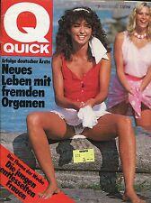 Quick 1982 NR 31 (29.7.82): les jeunes femmes paroxysmes