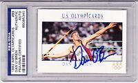DAN O'BRIEN Signed 1992 Impel USA US OLYMPIC Card PSA/DNA