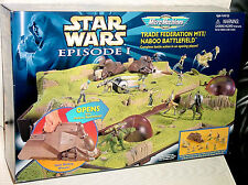 STAR WARS MICRO MACHINES TRADE FEDERATION MTT NABOO BATTLEFIELD PLAYSET SEALED