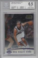 VINCE CARTER 1998-99 TOPPS STADIUM CLUB ROOKIE CARD RC CARD # 105 BGS 6.5