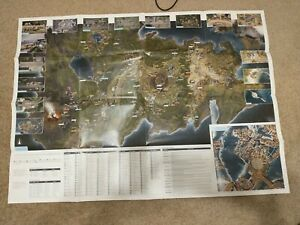 Final Fantasy XV official Map from the guide