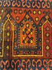 Antique Uzbek Small Rug