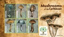 Guyana - 2012 - Mushrooms Of The Caribbean - Sheet Of 6 - MNH