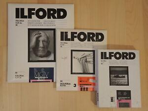 Ilford SW-Fotopapier Multigrade / Ilfospeed insgesamt 150 Blatt 13x18 und 18x24