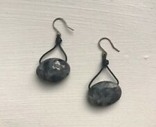 Kenneth Cole Stone Hook Dangle Earrings