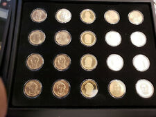 2010 Presidential Dollar Set - P & D UNC, Satin and S-Proof (20 Coins)