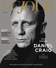 Dujour Magazine *NEW* Daniel Craig James Bond 007 Spectre America's Cup Skyfall