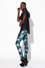 Jellyfish Digital Printing Leggings Tights Yoga Workout Pants - Lift the hips,St