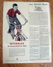 1962 Murray Bikes Bicycles Ad  The Bicycle Built for You