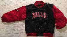 Chicago Bulls Size Medium 10-12 Youth Reebok Reversible Embroidered Jacket Coat