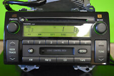 Toyota Camry factory Jbl disc Cd cass player radio Ad6806 86120-Aa050-A 02 03 04